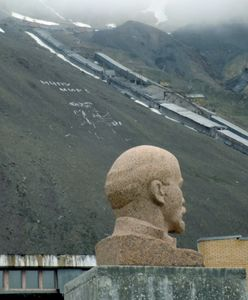 One of the northernmost Lenine statue. Pyramiden.