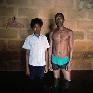 Epidiri and Samuel Godfrey, Igbogeni, Bayelsa State, Nigeria, November © Gideon Mendel