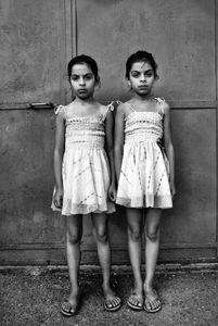 Twins. Tirana, Albania © Enri Canaj