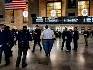 THE PEOPLE'S REPUBLIC OF GRAND CENTRAL© Gaia Light, 2014