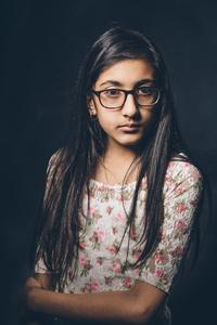 Aliza aged 12.