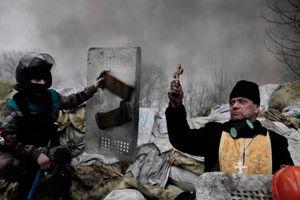 Kiev, Ukraine, 2014 © Jérôme Sessini, Magnum Gallery