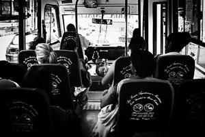 Public transport in Caracas. Agoust 2010
