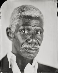 """Alamin."" 5x7""  Wet-plate collodion tintype. © 2010 Keliy Anderson-Staley"