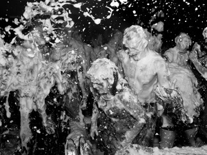 USA. Watertown, New York. 2012. Crazy Legs Saloon.