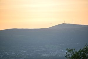 Divis & Black Mountain transmitter masts, NI