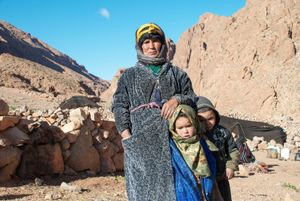 The Nomads. Ait Atta , Todra, Morocco