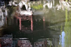 Imperial Garden Reflected in Pool, Shanghai