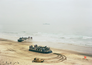 Offload, LCACs and Tank, California, 2006, from Events Ashore