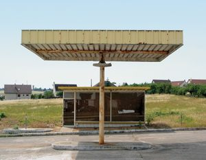 "Station #14, from ""Twentysix Abandoned Gasoline Stations"" © Eric Tabuchi"