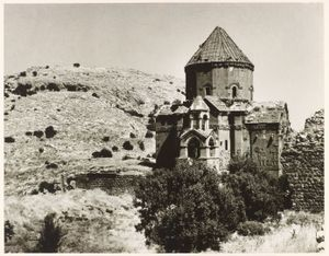"""Church of the Holy Cross, Akdamar Island. From the exhibition """"In Focus: Ara Guler's Anatolia"""" © Ara Guler, Freer Gallery and Arthur M. Sackler Gallery Archive"""