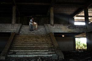 The former sanatorium of the Ministry of Defense of the USSR. Eshera village, Abkhazia. © Olga Ingurazova