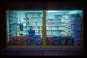 Turquie, Amasra, supermarché