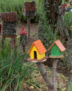 Fairy houses Detail