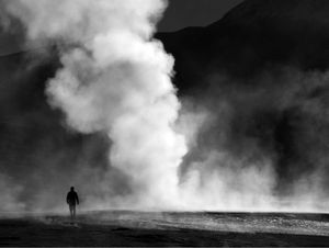El Tatio geyser field, Andes, Northern Chile Elevation 4320m