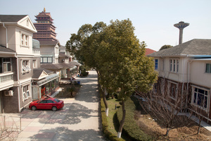 Farmer's Village, Jiangsu, China