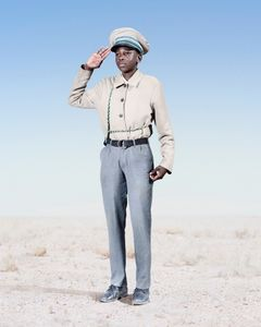 Herero Cadet Saluting, 2012 © Jim Naughten
