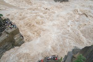Tiger Leaping Gorge, Lijiang, China.