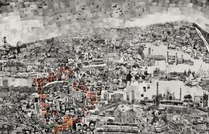 Diorama Map Delhi (detail) © Sohei Nishino/Courtesy of Michael Hoppen Contemporary