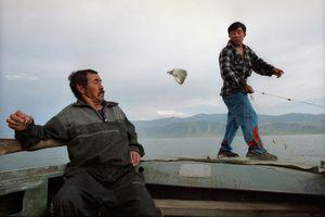 Fishing, Kazakhstan 2004 © Sergey Maximishin, Russian Tea Room Gallery