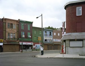 © Daniel Traub (United States) Man on Ridge Avenue, North Philadelphia, 2008. Honorable Mention, LensCulture Exposure Awards 2009