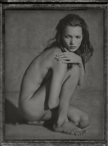 Kate Moss. Marrakech,1993. Archival pigment print from a polaroid 243 x 183 cm ( 95 5/8 x 72 in.). Edition of 3.