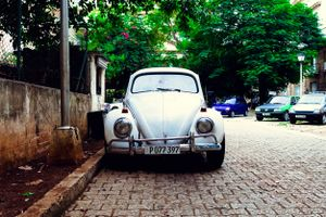 VW Beetle. Havana Cuba.