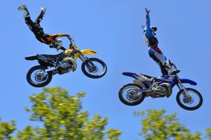 Freestyle Motocross Riders© Dianne Yudelson