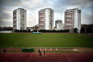 Cité Pagol et Stade de l'ile des Vannes, Ile Saint-Denis, 2008, France