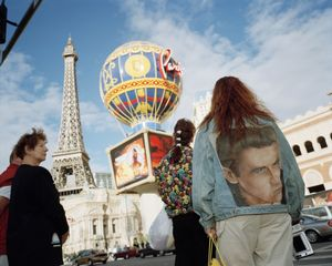 "Vegas Jacket. From ""Small World,"" 2000. © Martin Parr / Magnum Photos. Courtesy Janet Borden Gallery"