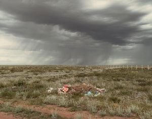 "Kurchatov VII (Ashes To Ashes), Kazakhstan 2011. From the book ""Dust"" © Nadav Kander. Courtesy Flowers Gallery."