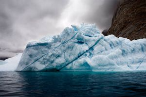 Trapped Iceberg © Camille Seaman