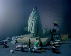 Woman in Bed, from the Leakage series, 2011. Courtesy of the artist.