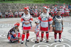 The Gejia, Matang, Guizhou, China.