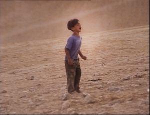 Negev Desert, Israel (2005). Unrecognized desert village. Silent Scream. Before manhood.