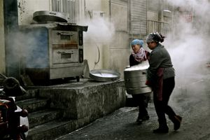 Western Series (China) No.4   (Roadside bread shop)