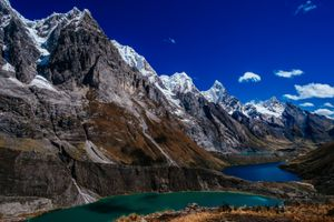 Three Lakes, Huayhuash Trek Peru