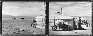 Nomadic Ger (Nomadic Mongolia #10), 2002. © Elaine Ling