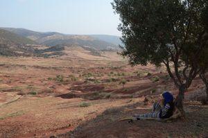 The Dreamer. Ouzoud, Morocco