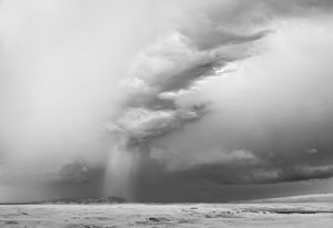 Pillar Cloud, Near Lewistown, Montana, 2011 © Mitch Dobrowner