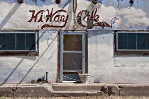 Highway Cafe, West TX                                 © Karen Strom