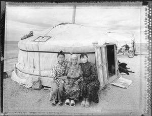 Old Mother (Nomadic Mongolia #38), 2004. © Elaine Ling