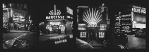 Place Pigalle, end of 1950. From the photobook Les amies de place Blanche, Aman Iman Éditions. © Christer Strömholm.