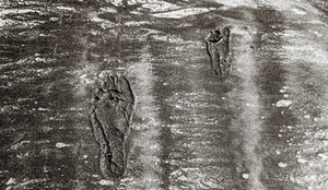 Father & Son Footprints