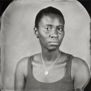 """Alexis."" 7x7""  Wet-plate collodion tintype. © 2012 Keliy Anderson-Staley"