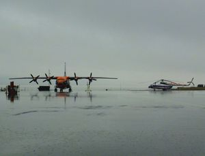 Russina Flying Machines at Longyearbyen Airport.