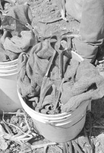 A Farmer Worker's Tools