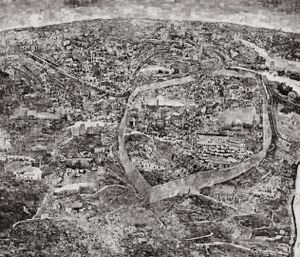 Diorama Map Jerusalem © Sohei Nishino/Courtesy of Michael Hoppen Contemporary