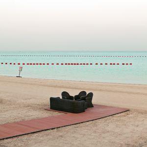 Doha beach, Qatar
