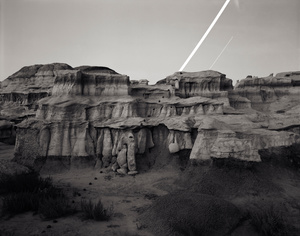 Bisti Moonrise, Bisti Badlands, New Mexico